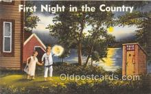 out001274 - First Night in the Country  Postcard Post Card
