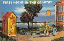 out001364 - First Night in the Country  Postcard Post Card