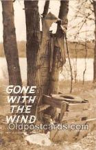 out001396 - Gone With The Wind  Postcard Post Card