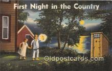 out001417 - First Night in the Country  Postcard Post Card