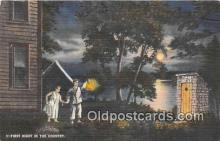 out001418 - First Night in the Country  Postcard Post Card