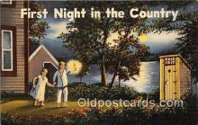 out001425 - First Night in the Country  Postcard Post Card