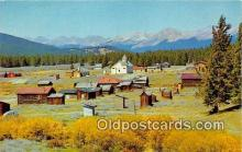 out001428 - Ghost Town Tincup, Colorado Postcard Post Card