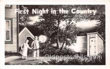 out001457 - First Night in the Country  Postcard Post Card