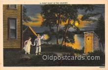 out001506 - First Night in the Country  Postcard Post Card
