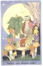 owl001001 - Owl Postcard Postcard