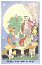 owl001003 - Artist L.R. Steele Artist L.R. Steele, Owl Postcard Postcard