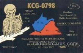 owl001017 - Owl Postcard Postcard