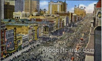 par001006 - Mardi Gras, New Orleans, LA Parade, Parades, Postcard Postcards