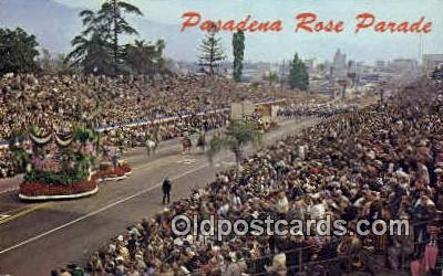 Pasadena Rose Parade, CA USA