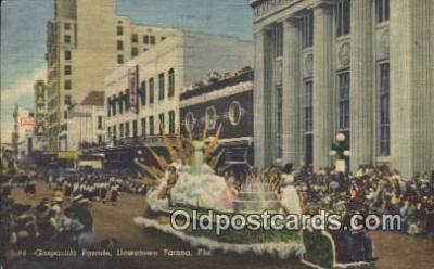 par001029 - Downtown Tampa, Florida, Usa Parade, Parades, Postcard Postcards