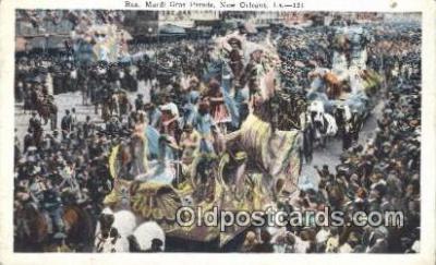 par001035 - Mardi Gras, New Orleans, La, Usa Parade, Parades, Postcard Postcards
