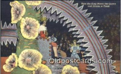 par001048 - King for a day Parade, Parades, Postcard Postcards