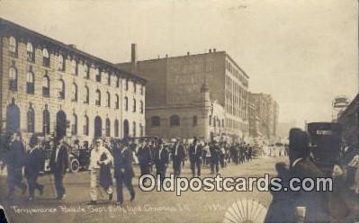 par001068 - Temperance Parade, Chicago, Illnois, USA Sept 26th 1908, Parade, Parades, Postcard Postcards