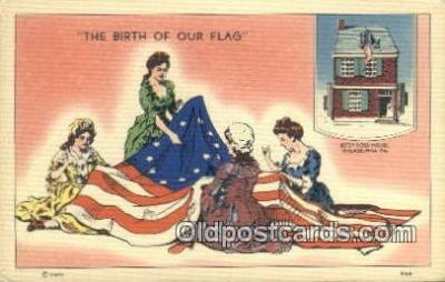 pat001108 - Patriotic, Old Vintage Antique Postcard Post Card