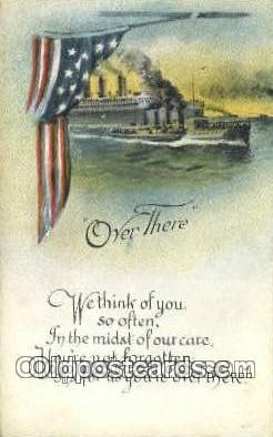 pat001257 - Patriotic, Old Vintage Antique Postcard Post Card