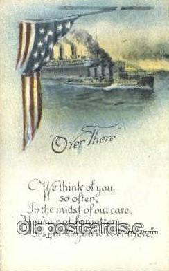 pat001258 - Patriotic, Old Vintage Antique Postcard Post Card