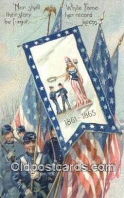 pat001316 - Patriotic, Old Vintage Antique Postcard Post Card
