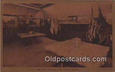 pat100013 - Art Gallery, Fraunces Tavern John Ward Dunsmore Postcard Post Card