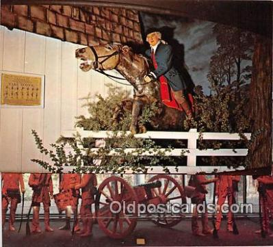 pat100023 - American Heritage Wax Museum Scottsdale, Arizona Postcard Post Card