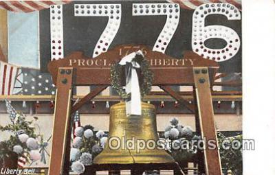 pat100030 - Liberty Bell  Postcard Post Card