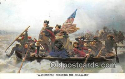 pat100042 - Washington Crossing the Delaware  Postcard Post Card