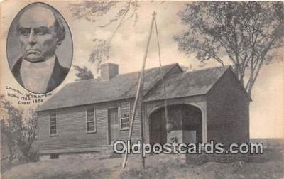 pat100062 - Daniel Webster 1782-1852 New Hampshire Postcard Post Card