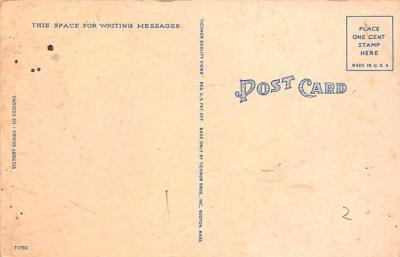 pat200123 - Patriotic Post Card Old Vintage Antique Postcard  back