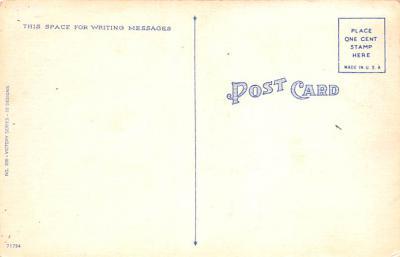 pat200137 - Patriotic Post Card Old Vintage Antique Postcard  back