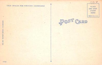 pat200141 - Patriotic Post Card Old Vintage Antique Postcard  back
