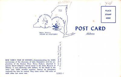 pat200247 - Patriotic Post Card Old Vintage Antique Postcard  back