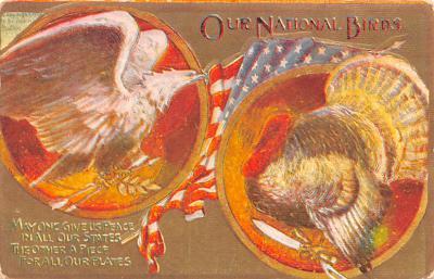 pat200293 - Patriotic Post Card Old Vintage Antique Postcard