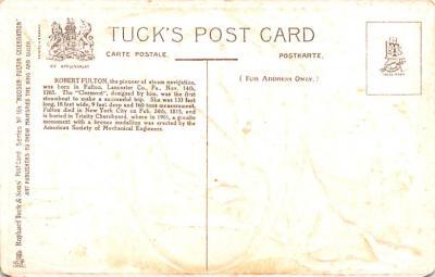 pat200297 - Patriotic Post Card Old Vintage Antique Postcard  back