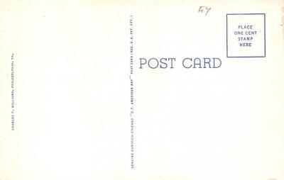 pat200425 - Colonial Post Card Old Vintage Antique Postcard  back