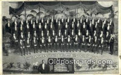 The pittsburgh Male Chorus