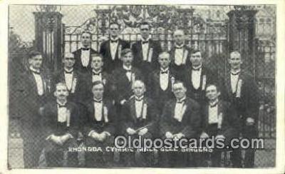Rhondda cymric Male Glee Singers