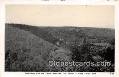 Cooksburg, Forest, Fire Tower
