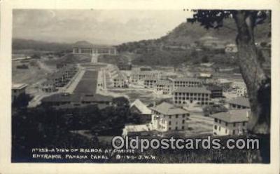 Balboa, Panama Canal
