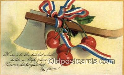 pol001024 - Artist Clappsaddle United States first President George Washington Postcard Postcards