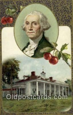 pol001075 - United States first President George Washington Postcard Postcards