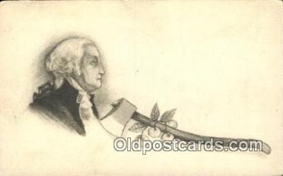 pol001089 - George Washington 1st USA President Postcard Postcards
