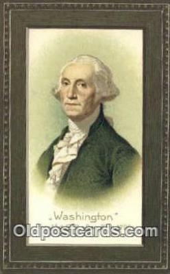 pol001121 - George Washington, 1st President USA, Political, Old Vintage Antique Postcard Post Card