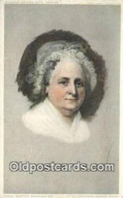 pol001182 - George Washington, 1st President USA, Political, Old Vintage Antique Postcard Post Card