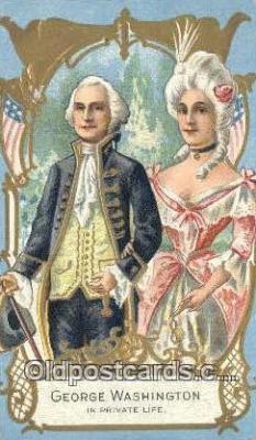 pol001188 - George Washington, 1st President USA, Political, Old Vintage Antique Postcard Post Card