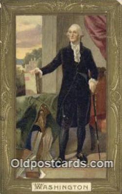 pol001224 - George Washington, 1st President USA, Political, Old Vintage Antique Postcard Post Card