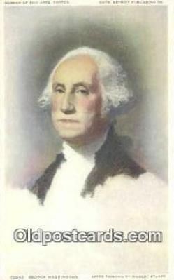 pol001242 - George Washington, 1st President USA, Political, Old Vintage Antique Postcard Post Card