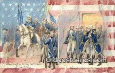 pol001248 - George Washington, 1st President USA, Political, Old Vintage Antique Postcard Post Card