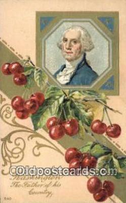 pol001249 - George Washington, 1st President USA, Political, Old Vintage Antique Postcard Post Card