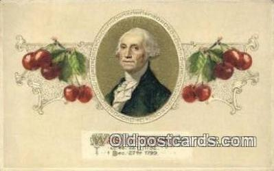 pol001251 - George Washington, 1st President USA, Political, Old Vintage Antique Postcard Post Card