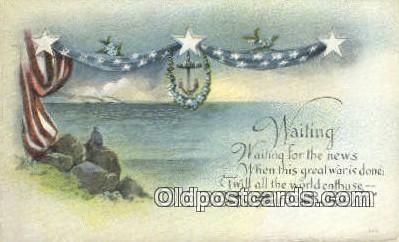 pol001260 - George Washington, 1st President USA, Political, Old Vintage Antique Postcard Post Card